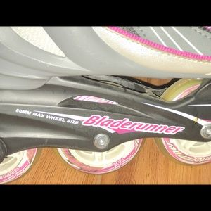 Other - 80 mm wheel blade runner roller skates